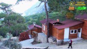 Saklıköy Antalya Kahvaltı Gözleme Şömineli Odalarda Ormanda Kahvaltı Keyfi