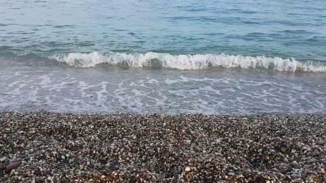 Antalya Deniz Manzarası - Deniz Sesi Dalga Sesi - Beachpark Gezi Tatil