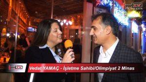Olimpiyat 2 Minas Restaurant - İstanbul Kumkapı Fasıllı Meyhaneler Eğlence Gece Alemi