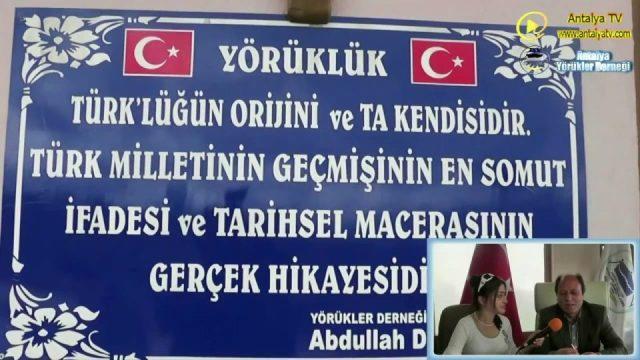 Antalya Yörükler Derneği Başkanı Abdullah Duman