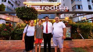 Döşemealtı Belediye Başkanı Turgay Genç Nasreddin Restaurant'ta