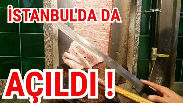 İstanbul Döner Restaurant - Dönerci Hamdi Usta Döner Kesme Videosu