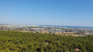Kepezüstünden Muhteşem Antalya Manzarası - Antalya Gezi Tatil