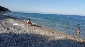 Kumsalda Yürüyüş Videosu Antalya Kargıcak Plajı Gezi Tur Tatil 2/4
