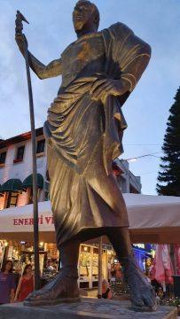 Kale Kapisi Saat Kulesi Kapali Yol Antalya Manzara (7)