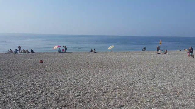 Beach Park'ta Yürüyüş Antalya Gezi Tatil - 8/9