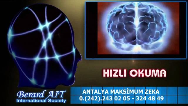 Hızlı Okuma Anlama Teknikleri Kursları Kursu Eğitimi Merkezi Antalya