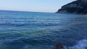 Kumsalda Yürüyüş Videosu Antalya Kargıcak Plajı Gezi Tur Tatil 4/4
