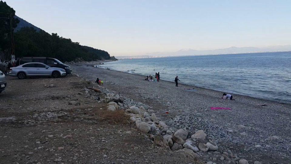 Antalya Kemer Yolu Kargıcak Plajı Deniz Manzarası – Antalya Gezi Tatil