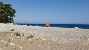 Antalya Çaltıcak Piknik Alanı Deniz Manzarası Gezi Tatil