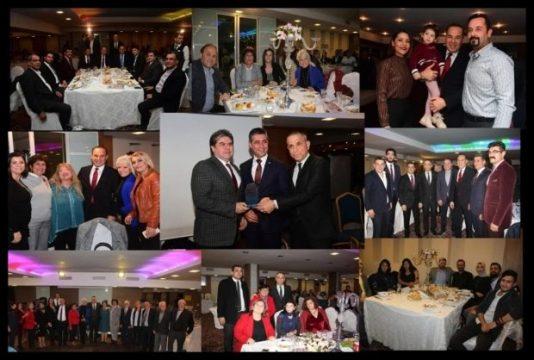 Adana Toros Gazetesinin 'HİZMETTE BAŞARI ÖDÜL GECESİ' Renkli Simalara Ev Sahipliği Yaptı