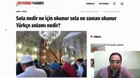Sela nedir ? Sela neden okunur ? Selanın türkçe anlamı nedir ? Sela ne zaman okunur ?