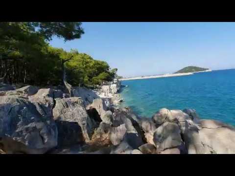 Çaltıcak Mesire Alanı Çamlık ve Kayalık Araziden Balıkçı Marinası ve Deniz Manzarası
