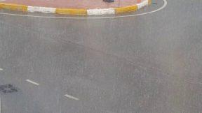 Antalya'da haziran ortasında dolu yağmur fırtına şimşek hepsi bir arada