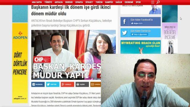 CHP'li Belediyelerde Akraba Kayırma Depremi - Antalya Belediyelerinde de ortaya çıktı