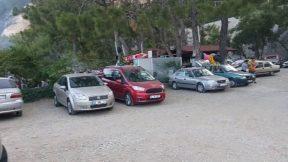 Piknikçiler için Antalya Kargıcak Plajı - Mangal Deniz Tatil Bir Arada