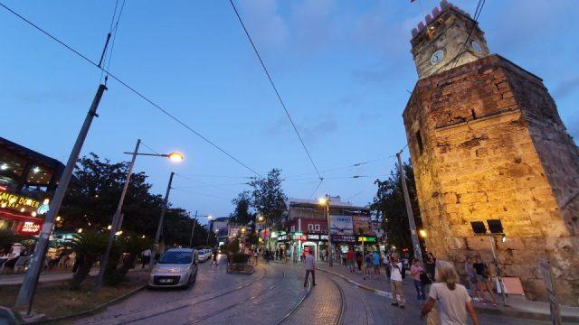 antalya kale kapisi saat kulesi kapali yol manzaralari (4)