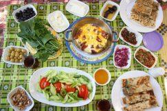 Çakırlar Köy Kahvaltısı - Sakinler Kır Bahçesi Antalya