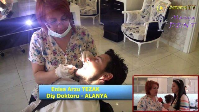 Alanya Diş Hekimi İmplant Ağız Diş Bakımı Lazerle Diş Dolgusu Enise Arzu Tezak