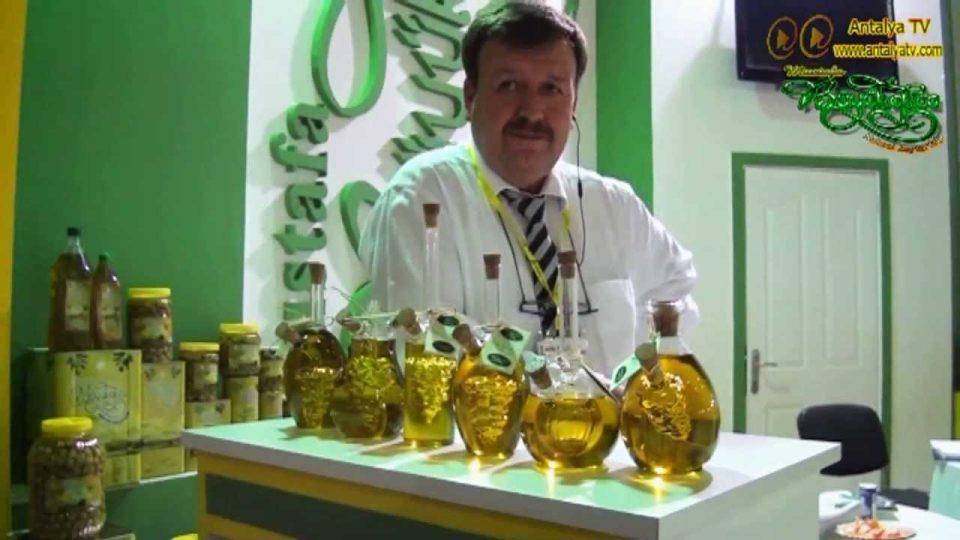 Mustafa Büyükakca Zeytin ve Zeytinyağları –  2013 Antalya Expo Gıda Fuarı – Zafer TAN