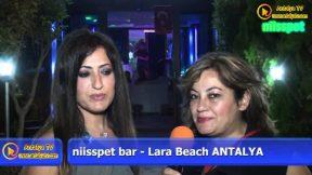 Niisspet Bar Lara Beach - Figen Günal Doğum Günü Partisi