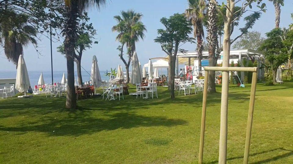 Beach Park'ta Yürüyüş Antalya Gezi Tatil – 4/9