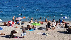 Antalya plajları Konyaaltı Beach Deniz Manzarası Antalya Gezilecek Yerleri Tatil