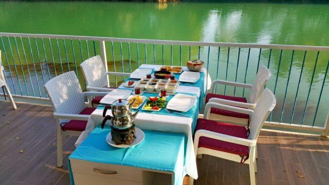 Manavgat Balıkevi Kahvaltı Düğün Restaurant Melas Garden