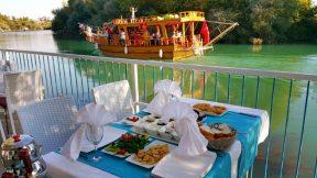 Manavgat Havuzbaşı Düğün Balıkevi Kahvaltı Restaurant Melas Garden