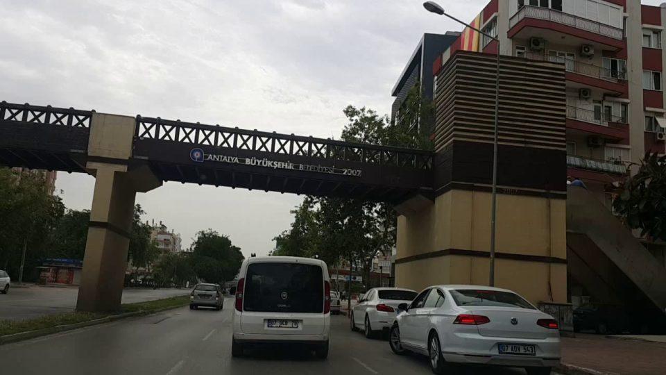 Real Kavşağı Mevlana Kavşağı – Antalya Şehir Merkezi Gezi