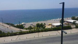 Konyaaltı Plajları Varyant Manzarası Antalya Gezi Tatil