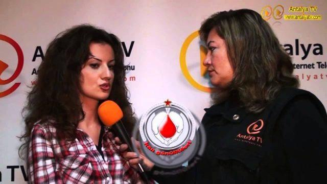Antalya Tüm Kan Gönüllüleri - Ece Cömert Röportaj