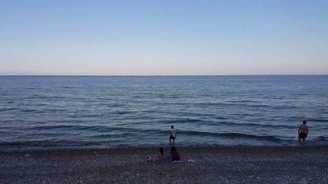 Huzurun başkenti Antalya'dan huzur dolu deniz manzarası