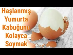 Haşlanmış yumurta kabuğunu kolayca soymak için ne yapmak gerekir ? - Pratik Bilgiler