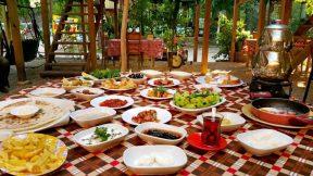 Serpme Kahvaltı Antalya - Çakırlar Köy Kahvaltısı Sakinler Gözleme Bazlama