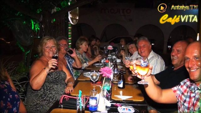 Kalkan Restaurant - Cafe Vita 2013 - Best Restaurant in Kalkan Fish Restaurant
