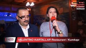 Valentino Kartallar Restaurant İstanbul Kumkapı Meyhane Restaurant Eğlence Balıkevi
