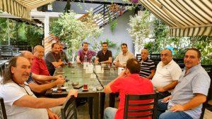 Gönül dostlarından Antalya İYİ Parti Eski İl Başkan Yardımcısı Nihat Kavşut'a taziye toplantısı