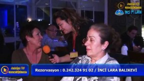 İnci Lara Balıkevi - Antalya Balıkevi Eğlence Fasıl Gece Alemi