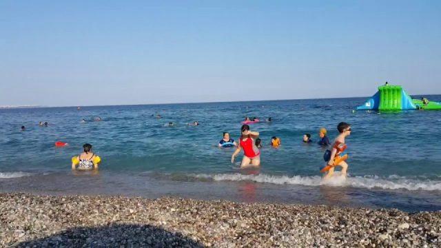 Antalya Konyaaltı Plajı Deniz Manzarası – Antalya Gezi Tatil