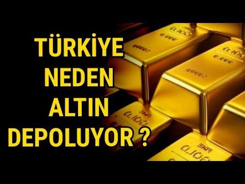 Türkiye Neden Altın Depoluyor ? Dolara ne olacak ?