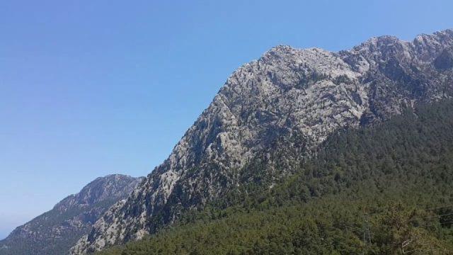 Antalya Dev Salıncak ve Muhteşem Manzarası - Altınyaka Yolu Antalya Tatil