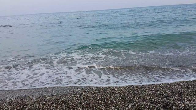 Sabahleyin Antalya Deniz Manzarası Deniz Sesi Dalga Sesi Antalya Gezi Tatil