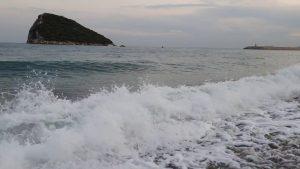 Antalya Deniz Manzarası Topçam Piknik Alanı Kumsalı Sıçan Adası Manzaraları