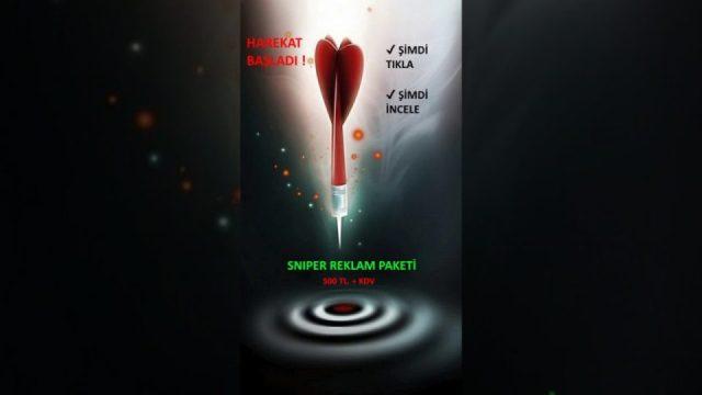 Sniper Reklam Paketi – 500 TL.