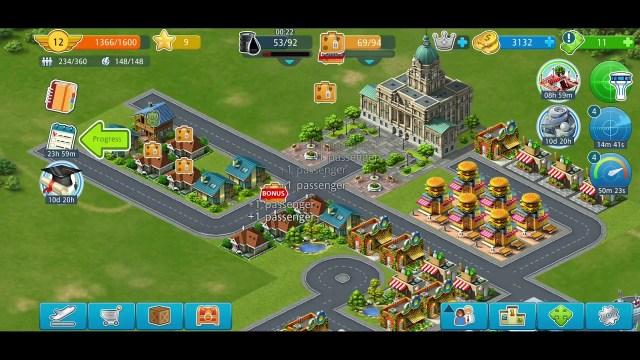 Uçak oyunları – Havaalanı yönetimi sanal ticaret oyunu android ios mobil oyunlar