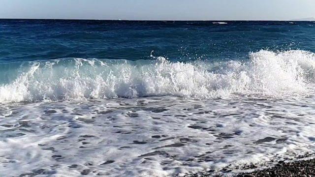 Ultra Ağır Çekim - Konyaaltı Plajı Dalgalar