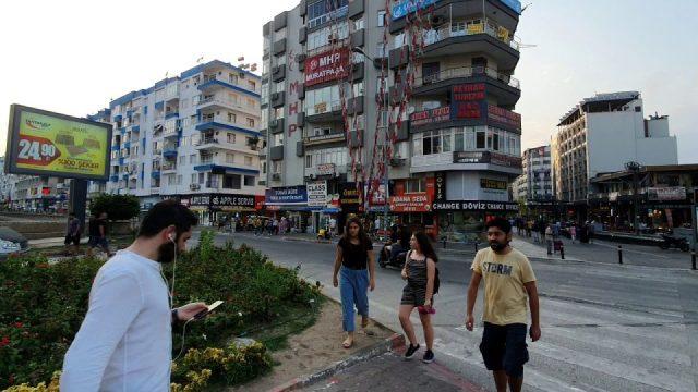 Antalya 100. Yıl Bulvarı Markantalya Kavşağı