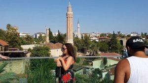 Antalya Cumhuriyet Meydanı Kaleiçi ve Deniz Manzarası - Antalya Turistik Yerleri
