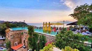 Antalya Cumhuriyet Meydanı Yat Limanı Kaleiçi Deniz Manzaraları